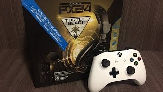 unboxing headset turtle beach px24 ptbr