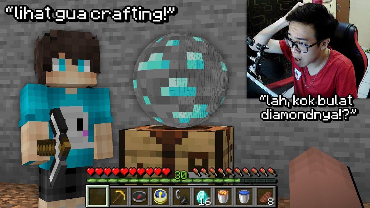 Aku PRANK Temen ku dengan Hack Minecraft Paling Aneh Ini ..