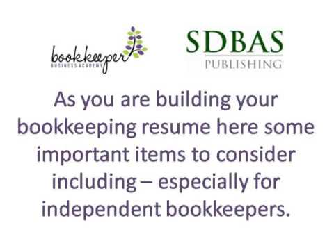 A Free Bookkeeper Resume Sample Download