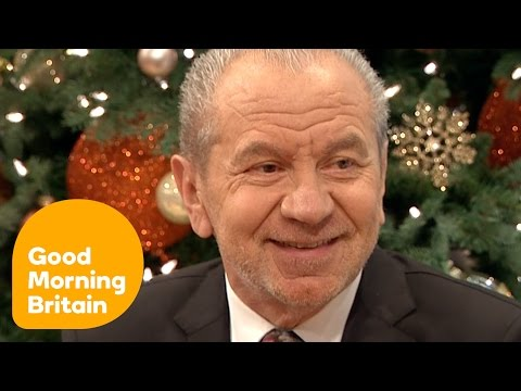 Lord Sugar And Piers Morgan's Clash Over The Apprentice | Good Morning Britain