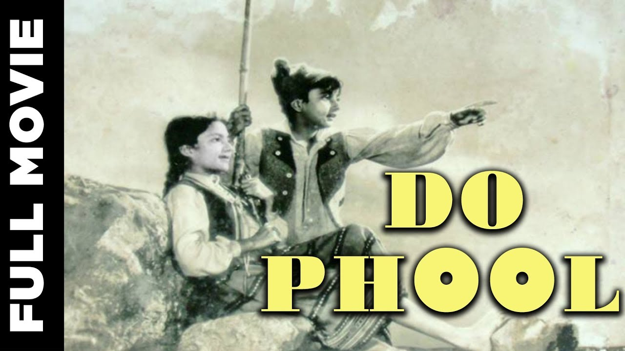 Download Do Phool (1958) Full Movie | दो फूल | Master Romi, Kumari Naaz