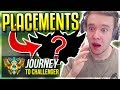 A NEW JOURNEY BEGINS! PLACEMENTS SEASON 8 - Journey To Challenger   League of Legends