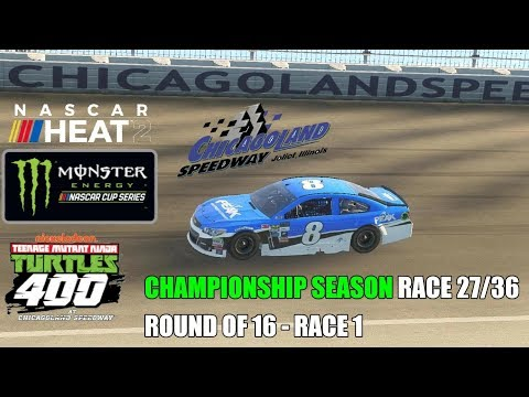 NASCAR Heat 2 | Championship Season | Monster Energy | Race 27/36 | Teenage Mutant Ninja Turtles 400