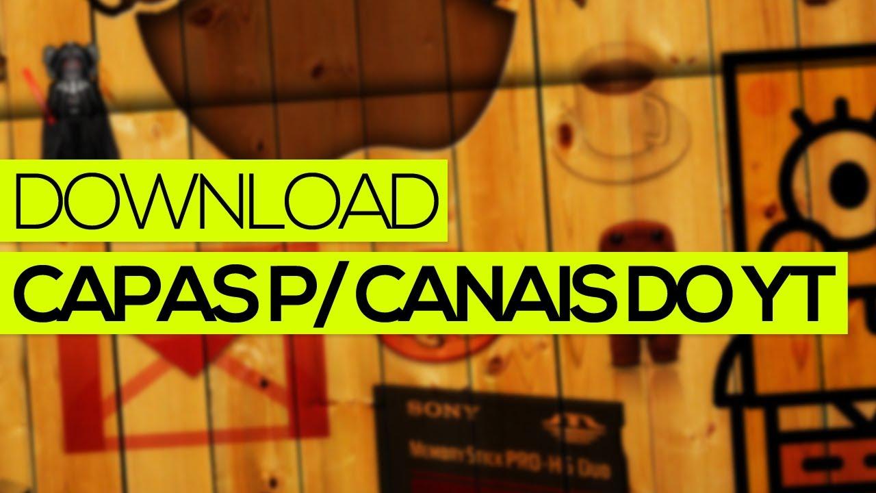 Capa De Youtube 2048x1152: Download: Capas P/ (quase) Todos Os Tipos De Canais Do