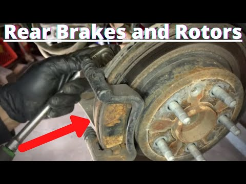 How to Replace Rear Brakes and Rotors Buick Regal