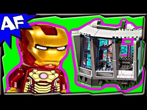 Iron Man MALIBU MANSION Attack 76007 Lego Marvel Super Heroes Animated Building Review