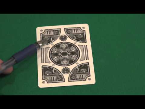 Обзор колоды Bicycle Steampunk Silver : дизайнерские карты, стиль Steampunk
