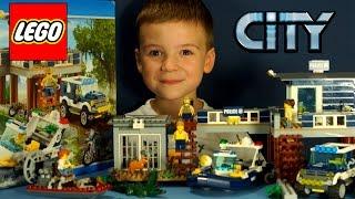 Конструктор Lego City 60069 Участок Новой Лесной Полиции, Мультики - обзор на русском языке