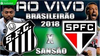 Santos 0x0 São Paulo | Brasileirão 2018 | Parciais Cartola FC | 25ª Rodada | 16/09/2018