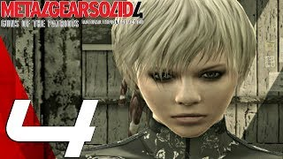 Metal Gear Solid 4 - Gameplay Walkthrough Part 4 - Laughing Octopus Boss Fight [1080p HD]