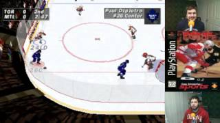 Old School: NHL Face-Off (PS1)