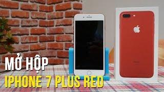 Mở hộp iPhone 7 Plus (RED) - Những lý do bạn nên mua phiên bản này!
