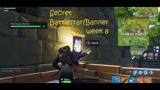 Secret Battlestar/Banner week 8 | Fortnite S5/W8