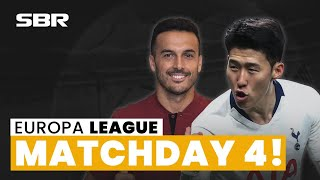 Europa League Group Stage Matchday 4 ⚽ Football Tips, Odds & Predictions