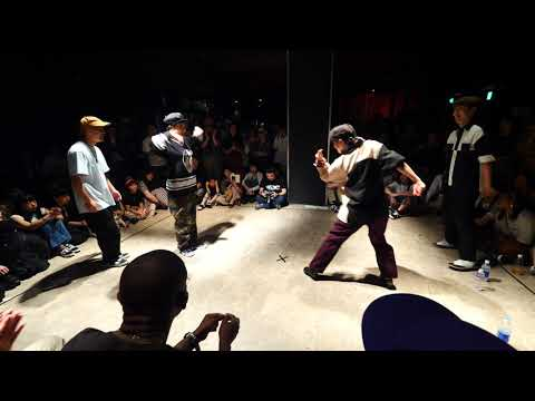 ROADDOGGZ vs LUPLO D-FLO(Mr.split & Luna) BEST8 LOCKIN' WDC 2019 World Dance Colosseum #WDC