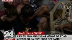 24 Oras: 6 kabilang ang isang menor de edad, arestado sa buy-bust operation