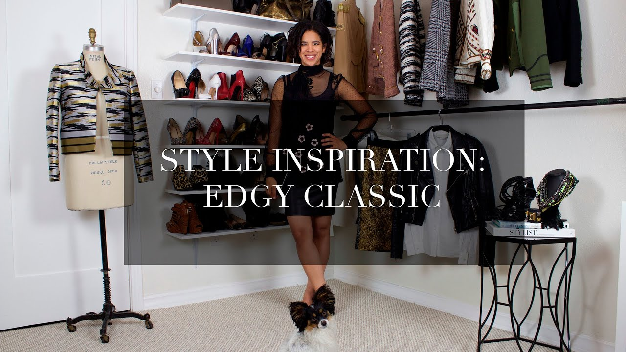 Style Inspiration Edgy Classic Youtube