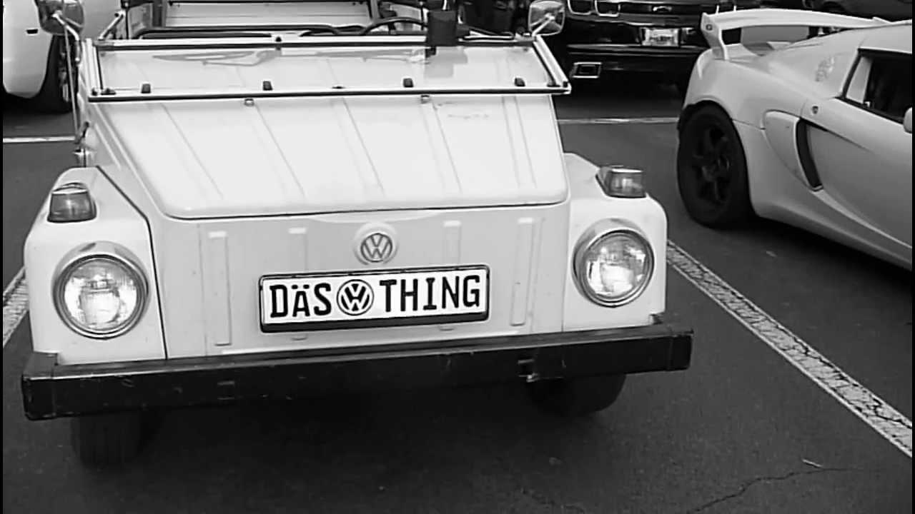 1974 Volkswagen Kübelwagen - YouTube