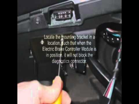 Electric Trailer Brake Controller Installation for Land Rover LR3, Range Rover Sport  YouTube