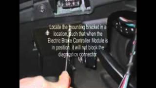 Electric Trailer Brake Controller Installation for LR3, LR4 & Range Rover Sport