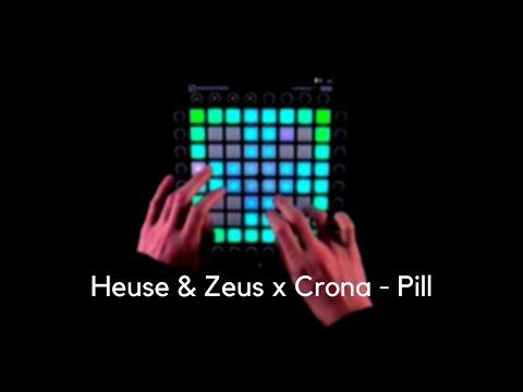 Heuse & Zeus x Crona - Pill (feat. Emma Sameth)   Launchpad Pro Cover