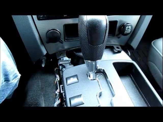 Jeep Grand Cherokee Electronic Shift module cleaning video.wmv ...
