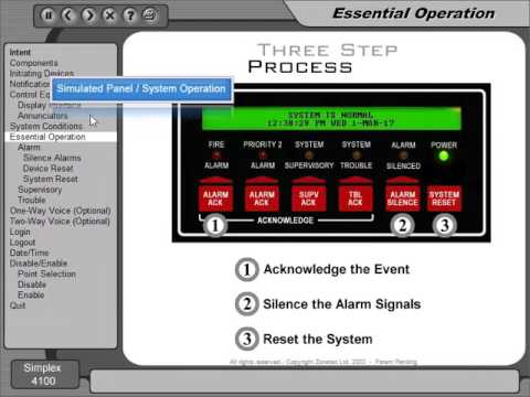 simplex 4100 fire alarm panel manual