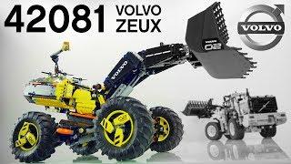 ЧТО ТЫ ТАКОЕ? / LEGO 42081 VOLVO колёсный погрузчик ZEUX