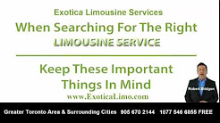 Exotica Limo Rental Review In Toronto