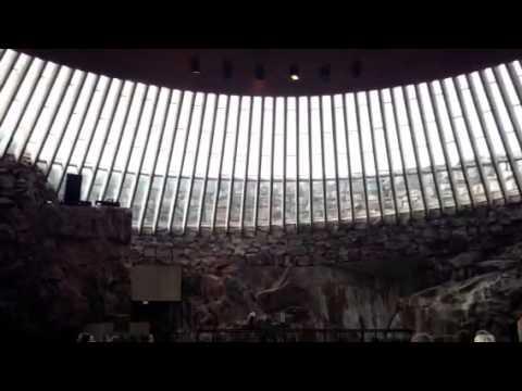 Helsinki church of rocks