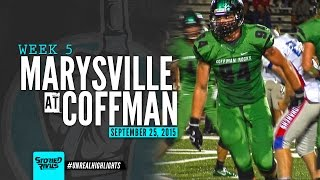 HS Football | Marysville at Dublin Coffman [9/25/15]