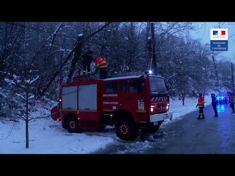 Tempête Gloria dans les Pyrénées-Orientales : les services de l'État sur le qui-vive
