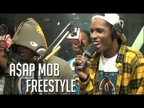 ASAP MOB FREESTYLES ON FLEX part 1