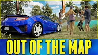 Forza Horizon 3 Online : OUT OF THE MAP!!! (How To Get Out Of The Map)