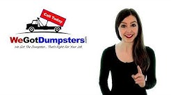 Dumpster Rentals Serving Washington DC & Baltimore Metro Areas