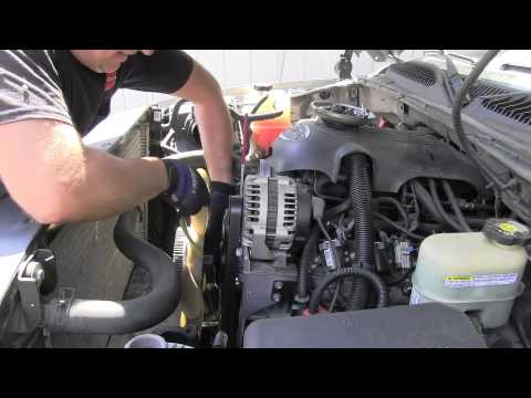 How to replace cooling fan clutch GMC Chevrolet  YouTube