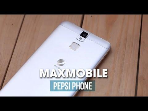 Trên tay Pepsi Phone - Smartphone đầu tiên của hãng sản xuất nước giải khát