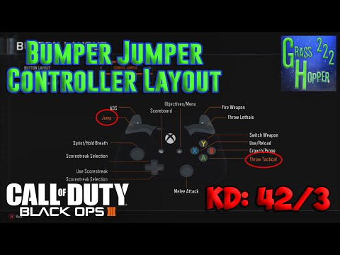 5ab978c2244d Bumper Jumper Controller Layout  COD  BO3 Gameplay  - YouTube