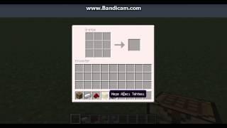 Minecraft piston ve yapışkan piston yapımı