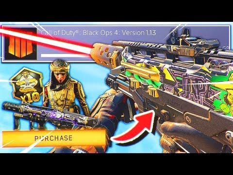the NEW TRIPLE PLAY BUNDLE.. 😭 (Black Ops 4 New Update 1.13)