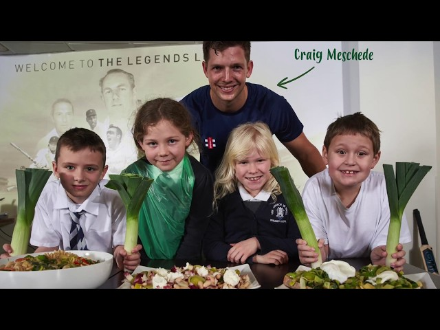 Video of Students Cooking Leeks