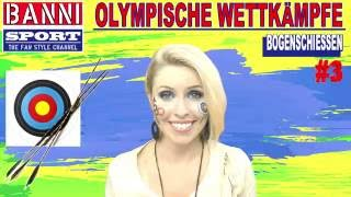FACEBOOK Trailer Bogenschießen Archery Tiro al Arco - Olympic Wettkampf  Sport Fan Style & Make-up