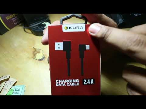 Unboxing MICRO USB L CABLE - KURA INDONESIA