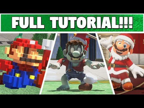 HOW TO GET UNRELEASED ODYSSEY COSTUMES! | Super Mario Odyssey Save Editing
