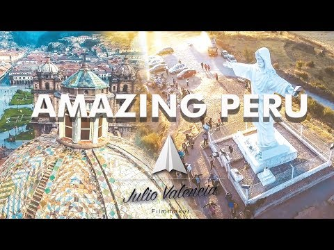 Amazing Perú from above 2 - With a drone 4K - JVfilmmaker