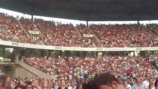 Robbie Williams Not Like The Others Live @ HDI Arena Hannover 27.07.2013 HD