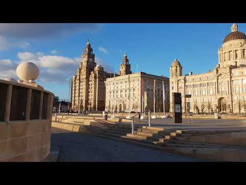 SAMSUNG GALAXY S9 PLUS 4K UHD 60 FPS VIDEO TEST CLIP 5 LIVERPOOL PIER HEAD THE THREE GRACES