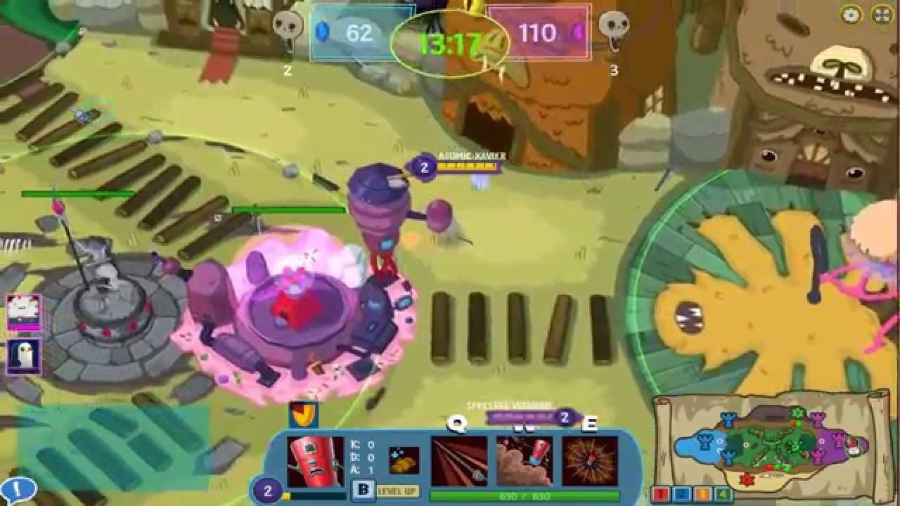 Battle Party Juego Gratuito Brutal Parecido Al Lol Free Games El