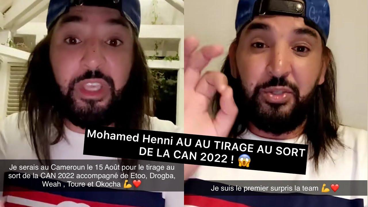 Mohamed Henni FERA LE TIRAGE AU SORT DE LA CAN 2022 ! 😱