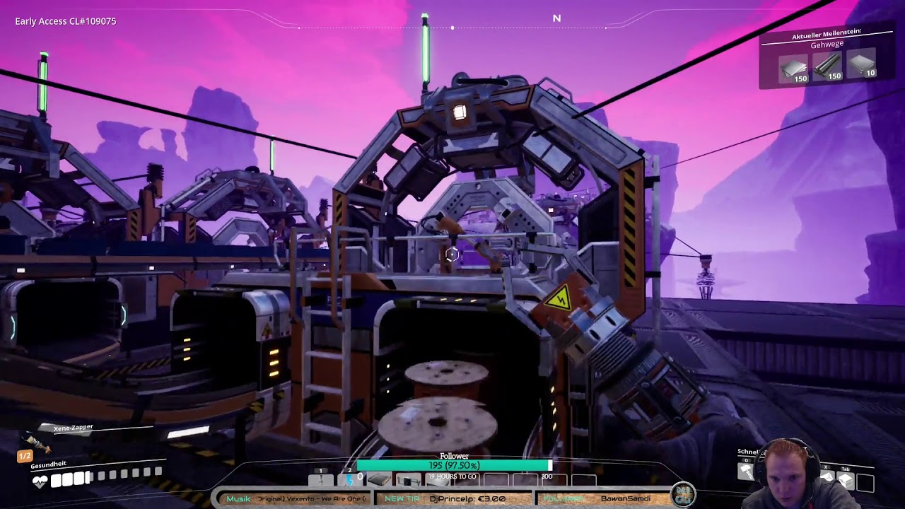 Multiplayer Aufbauspiel